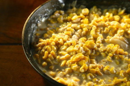 Smoked Creamed Corn