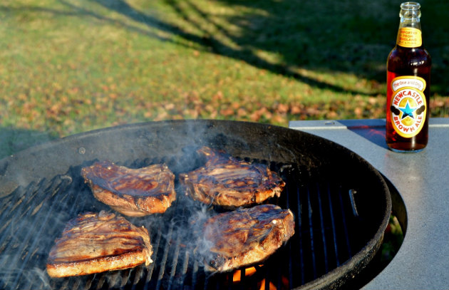 Grilled pork chop recipes with beer