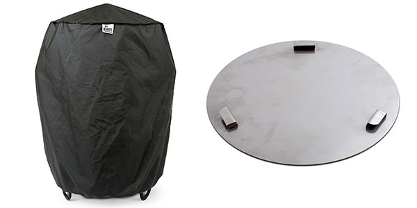 Custom Fit Cover and Ash Pan for Pit Barrel Cooker