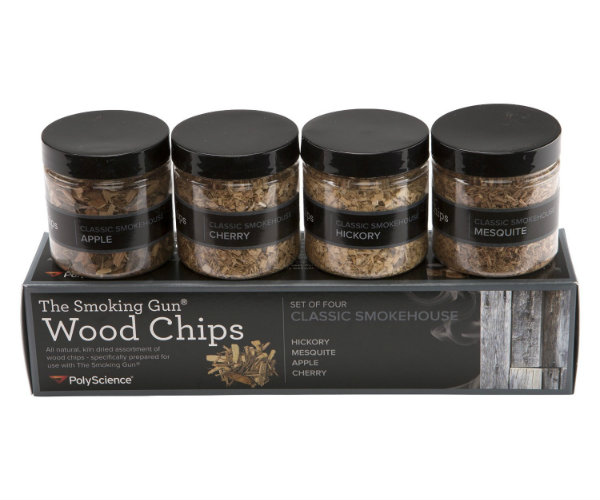 Smokehouse wood chips set barbecuebible