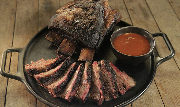 Brisket On The Bone Beef Ribs Barbecuebible Com
