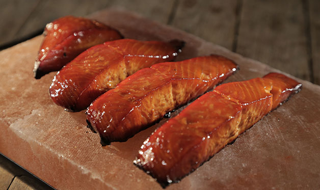 Salmon Candy Recipe Smoked Salmon Jerky Barbecuebible Com