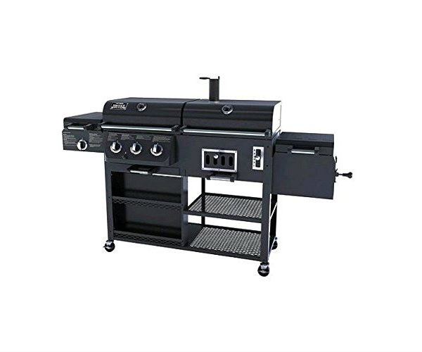 4 In 1 Gas And Charcoal Grill Smoker Barbecuebible Com