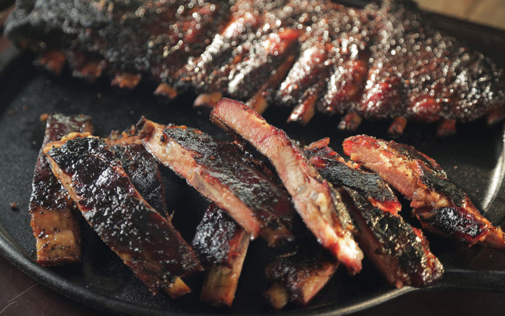 St. Louis Ribs with Vanilla-Brown Sugar Glaze
