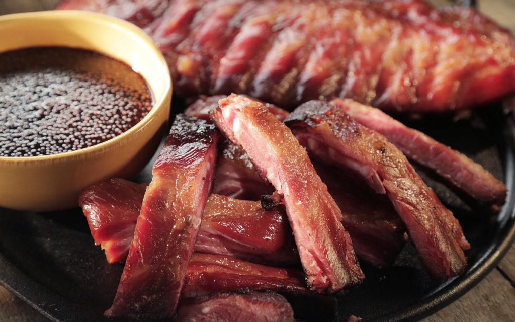 Honey Ham Ribs