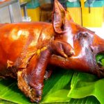 Filipino roast pig