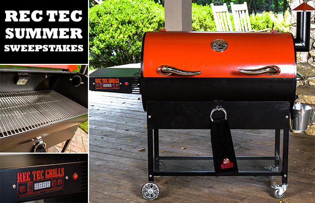 Rec Tec Summer Sweepstakes Barbecuebible Com