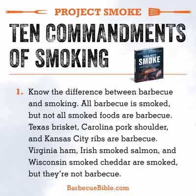 Commandments of Smoking #1