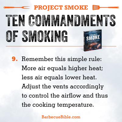 Commandments of Smoking #9