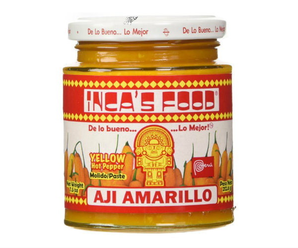 Peruvian Ají Amarillo (Yellow Hot Pepper) Paste