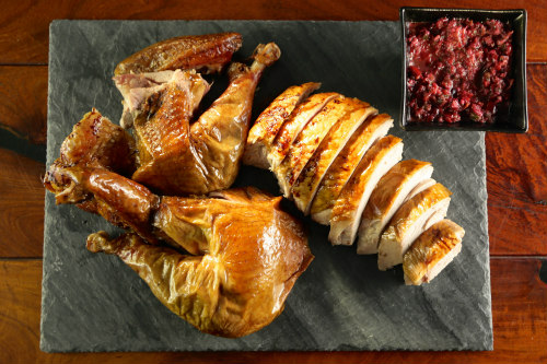 Turkey, plated