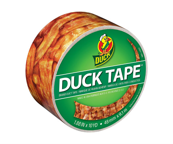 Bacon Printed Duct Tape Barbecuebible Com