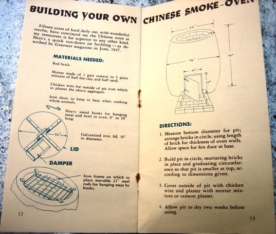 Building your own Chinese smoker