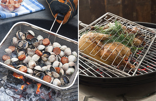 Barbecue Made Easier with Grilling Baskets