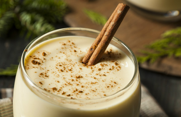 Smoked Eggnog for the Holidays