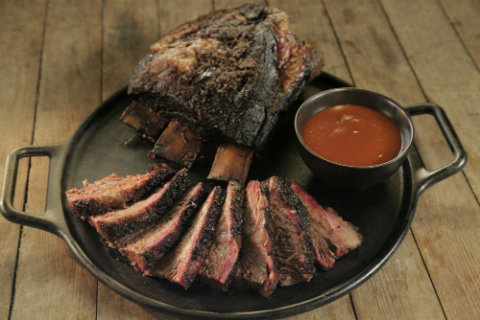 Brisket on the Bone