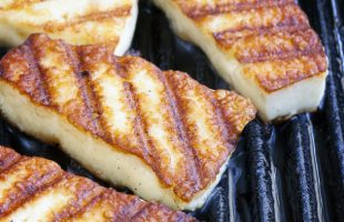 Celebrate Grilled Cheese: Halloumi