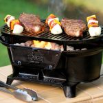 Lodge Sportsman hibachi-style charcoal grill