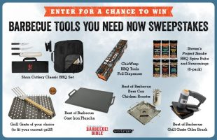 Summer 2017 Sweepstakes: Barbecue Essentials You Need Now