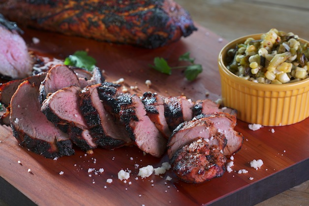 Chipotle-Marinated Pork Tenderloin with Grilled Nopalitos ...