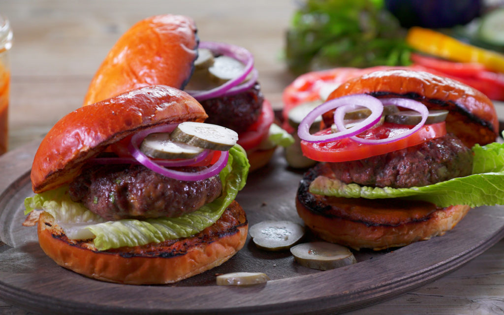 Inside-Out Cheeseburgers with Made-From-Scratch Ketchup