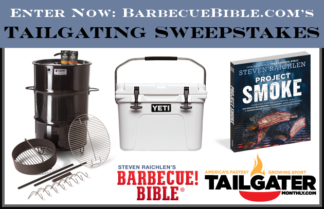 Tailgating 2017 Sweepstakes