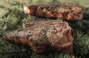 Use Your Christmas Tree on the Grill: Spruce-Grilled Steaks