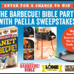 Enter for a Chance to Win the Barbecue Bible Party with Paella Sweepstakes