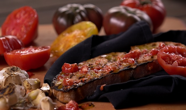 Catalan Grilled Tomato Bread