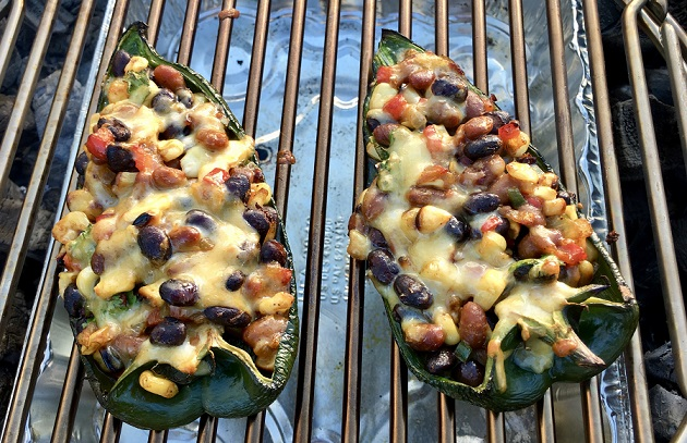 Chiles Rellenos Hit the Grill
