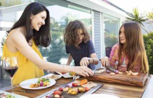 Social Grilling with iBBQ's Angara Dining Table