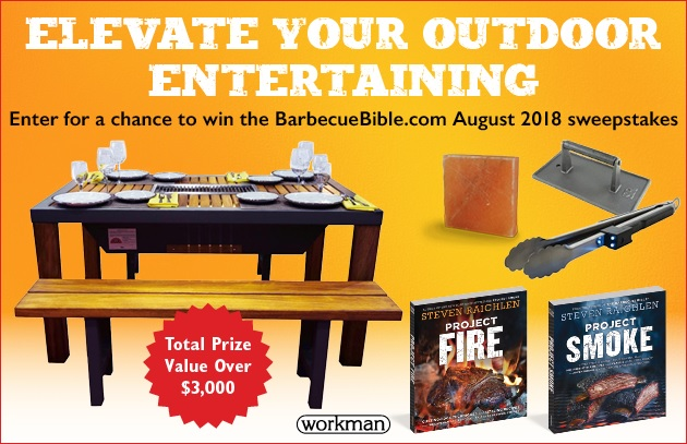 Elevate Your Outdoor Entertaining with Our August 2018 Sweepstakes