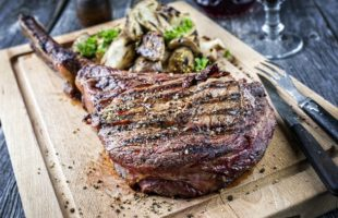 Steak and Potatoes: First Up, Tomahawks and Hasselbacks
