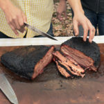 Farmhouse BBQ - Slicing Brisket