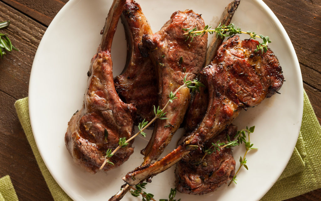 Finger Burner Lamb Chops
