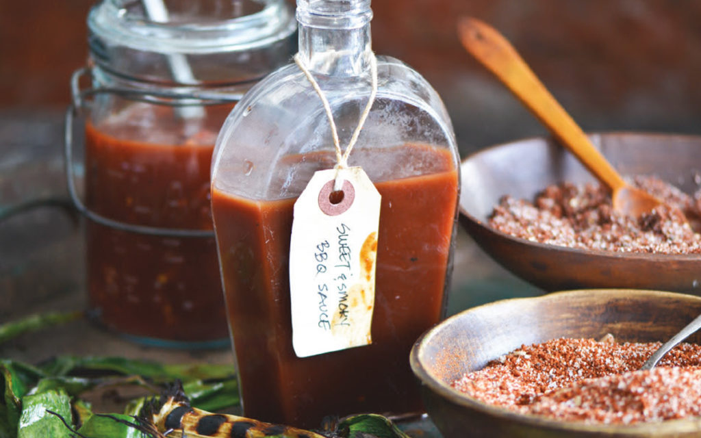 Sweet-and-Smoky Barbecue Sauce Recipe