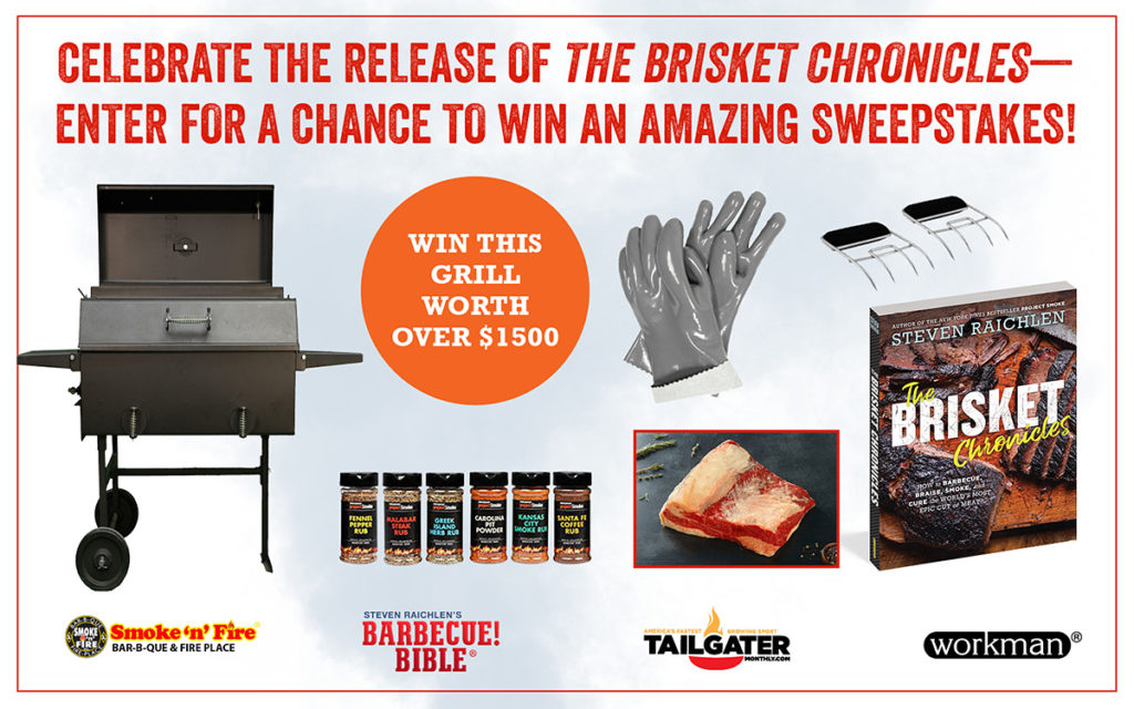 Celebrate The Brisket Chronicles Sweepstakes - Barbecuebible com