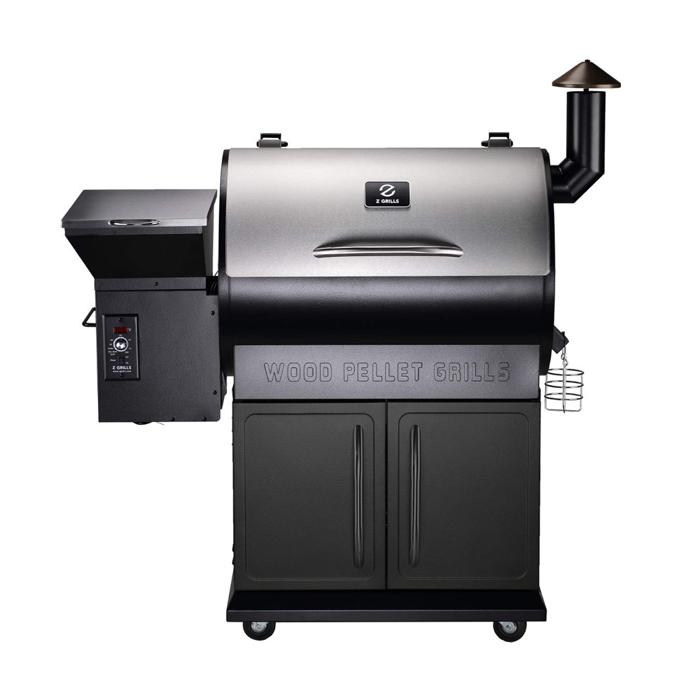 Z Grills Zpg 700e Wood Pellet Grill Amp Smoker Barbecuebible Com
