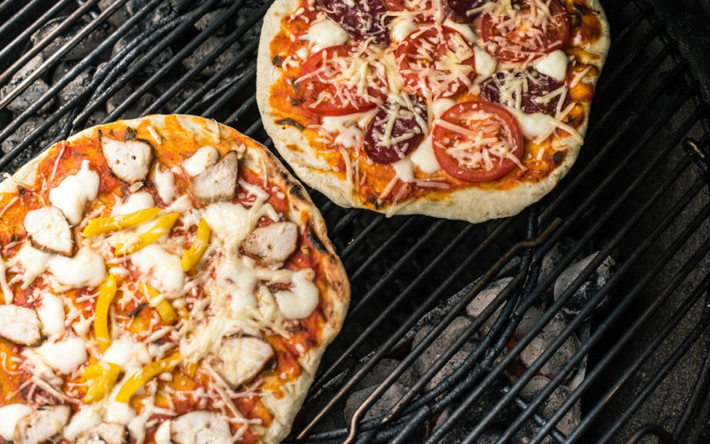 Kenmore Pizza on the Grill