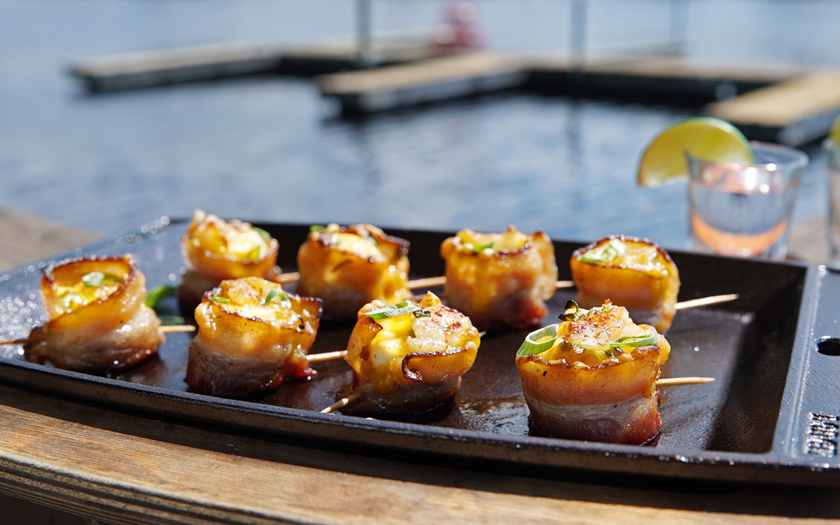 """Pork """"Shooters"""" Recipe [Tailgating Appetizer]- Barbecuebible.com"""
