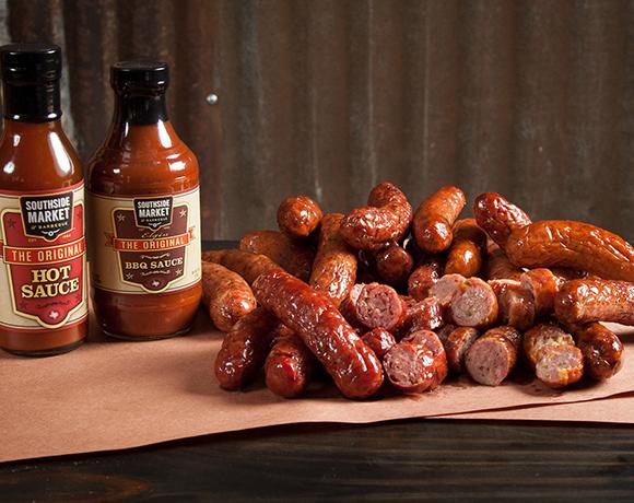 Smoked Sausage Pile