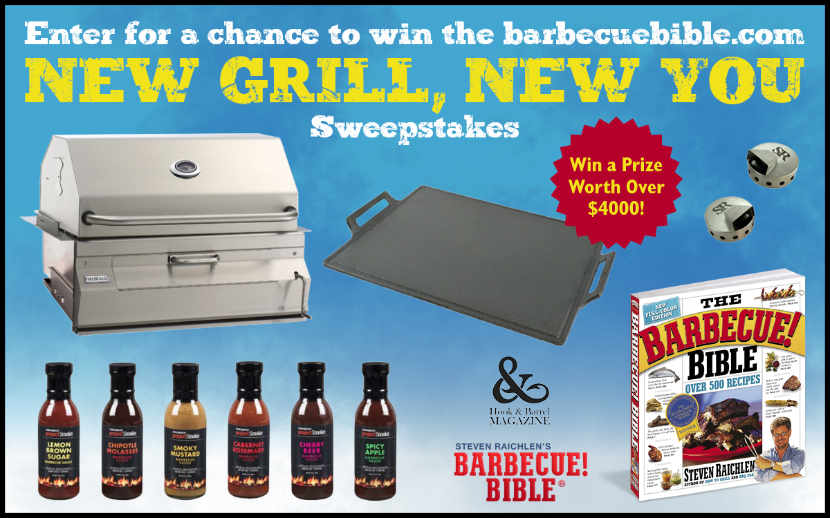 Enter for a Chance to Win the BarbecueBible.com New Grill, New You Sweepstakes