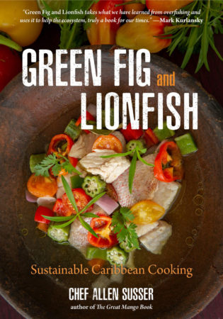 Green Fig and Lionfish by Allen Susser