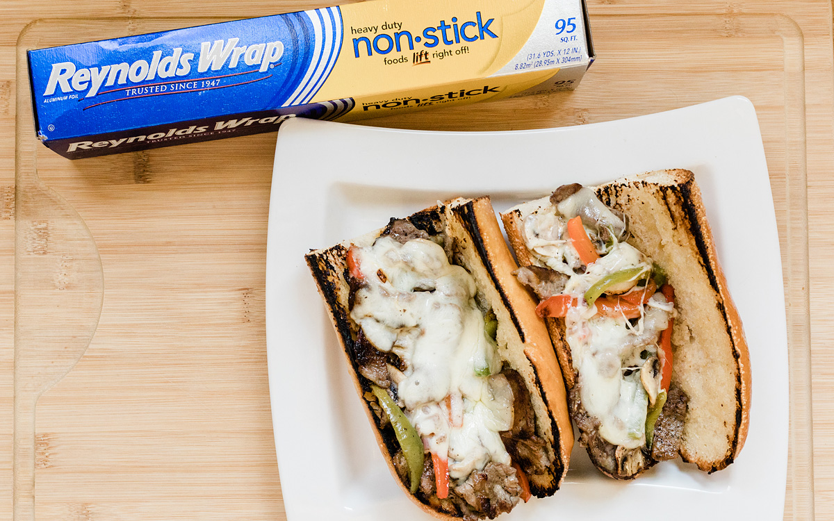 Philly Cheesesteaks in a Foil Packet Recipe - Barbecuebible.com