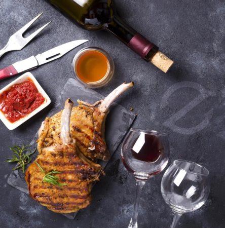 ZGrills Steak and Wine
