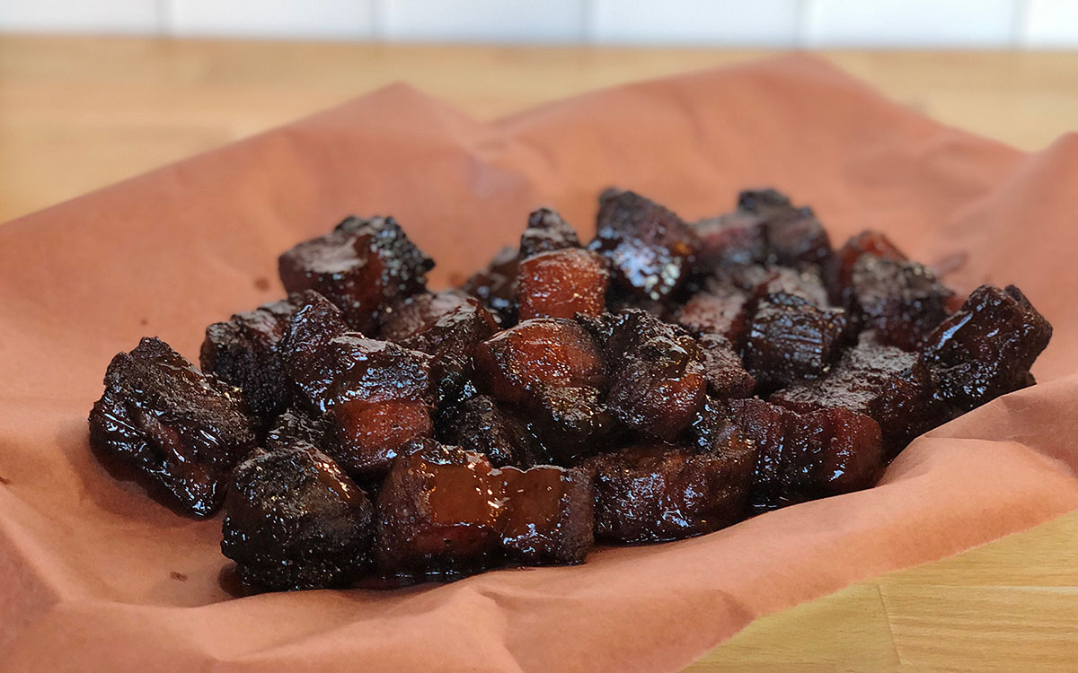 How to Make Pork Belly Burnt Ends - Barbecuebible.com