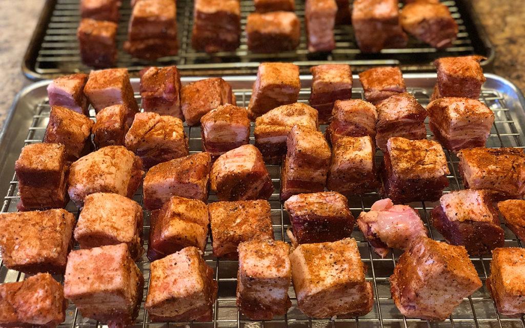 Prepared pork belly